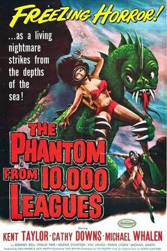 Best Horror Movies of 1955 : The Phantom from 10,000 Leagues