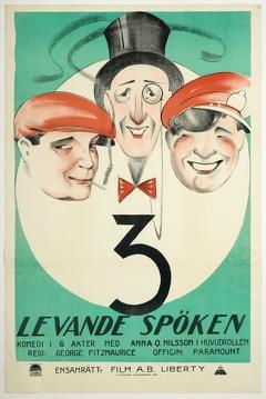 Best Comedy Movies of 1922 : Three Live Ghosts