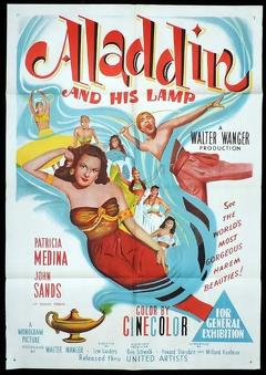 Best Fantasy Movies of 1952 : Aladdin and His Lamp