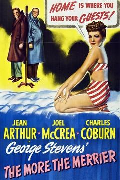 Best Comedy Movies of 1943 : The More the Merrier