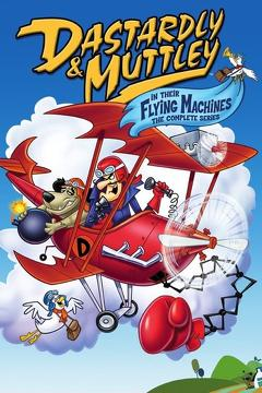 Best Family Movies of 1969 : Dastardly and Muttley and Their Flying Machines