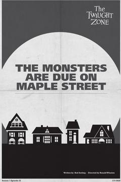 Best Fantasy Movies of 1960 : The Monsters Are Due on Maple Street