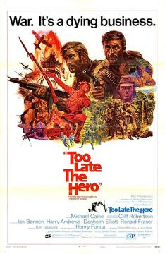 Best Action Movies of 1970 : Too Late the Hero