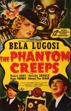 Best Science Fiction Movies of 1939 : The Phantom Creeps