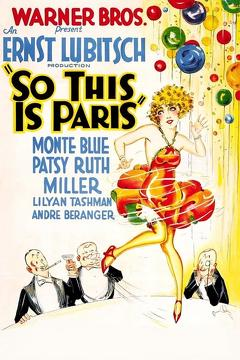 Best Comedy Movies of 1926 : So This Is Paris