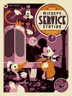 Best Animation Movies of 1935 : Mickey's Service Station
