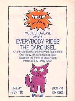 Best Animation Movies of 1975 : Everybody Rides the Carousel