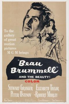Best History Movies of 1954 : Beau Brummell