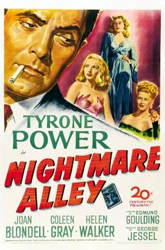 Best Crime Movies of 1947 : Nightmare Alley