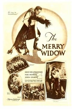 Best Romance Movies of 1925 : The Merry Widow