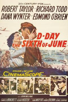 Best War Movies of 1956 : D-Day the Sixth of June