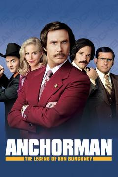 Best Comedy Movies of 2004 : Anchorman: The Legend of Ron Burgundy