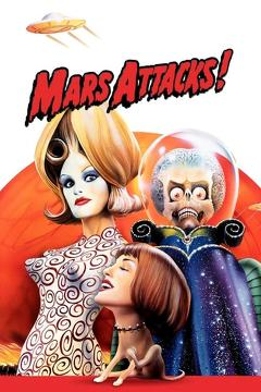 Best Comedy Movies of 1996 : Mars Attacks!