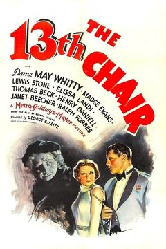 Best Mystery Movies of 1937 : The Thirteenth Chair