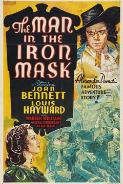 Best Adventure Movies of 1939 : The Man in the Iron Mask