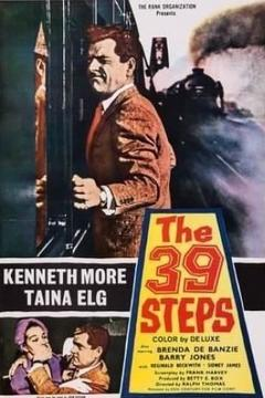 Best Adventure Movies of 1959 : The 39 Steps