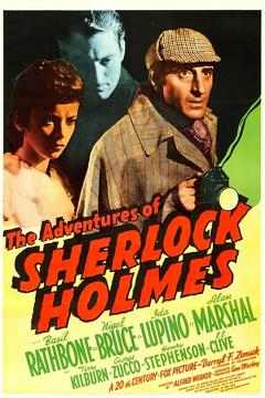 Best Thriller Movies of 1939 : The Adventures of Sherlock Holmes