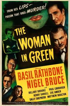 Best Action Movies of 1945 : The Woman in Green