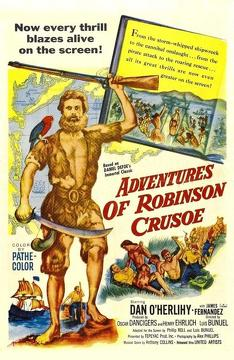 Best Action Movies of 1954 : Robinson Crusoe