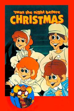 Best Animation Movies of 1974 : 'Twas the Night Before Christmas