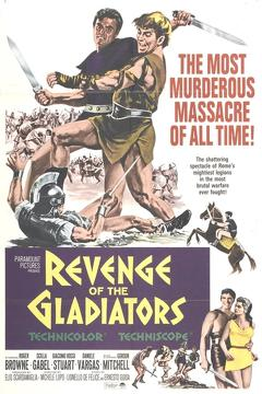 Best History Movies of 1964 : The Revenge of the Gladiators