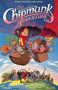 Best Animation Movies of 1987 : The Chipmunk Adventure