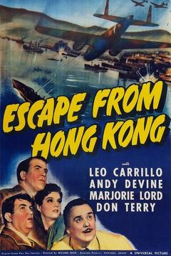 Best Adventure Movies of 1942 : Escape from Hong Kong