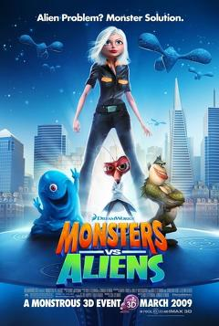 Best Family Movies of 2009 : Monsters vs Aliens