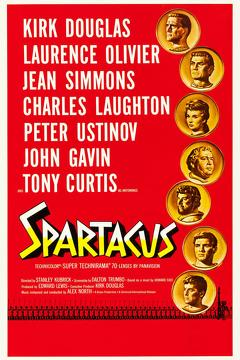 Best History Movies of 1960 : Spartacus