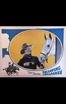 Best Western Movies of 1924 : Galloping Gallagher