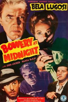 Best Horror Movies of 1942 : Bowery at Midnight