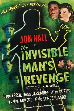 Best Science Fiction Movies of 1944 : The Invisible Man's Revenge