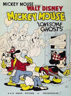Best Animation Movies of 1937 : Lonesome Ghosts