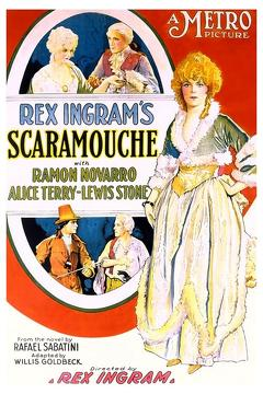 Best Drama Movies of 1923 : Scaramouche