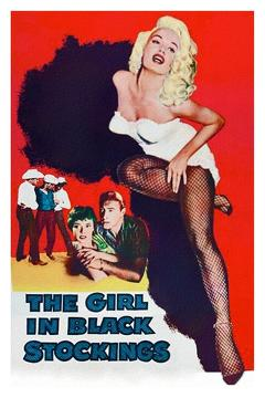 Best Mystery Movies of 1957 : The Girl in Black Stockings