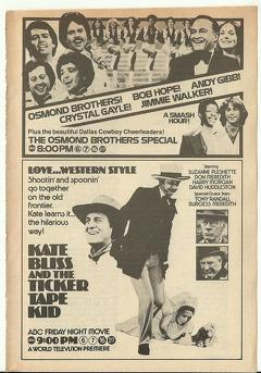 Best Western Movies of 1978 : Kate Bliss and the Ticker Tape Kid