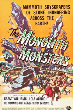 Best Horror Movies of 1957 : The Monolith Monsters