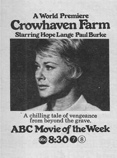 Best Tv Movie Movies of 1970 : Crowhaven Farm