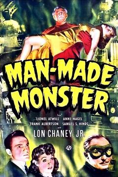 Best Horror Movies of 1941 : Man Made Monster