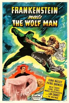 Best Fantasy Movies of 1943 : Frankenstein Meets the Wolf Man