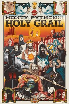 Best Comedy Movies of 1975 : Monty Python and the Holy Grail