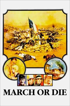 Best War Movies of 1977 : March or Die