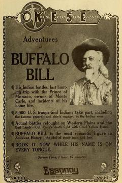 Best Western Movies of 1914 : The Adventures of Buffalo Bill