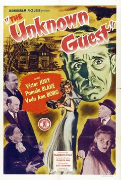 Best Mystery Movies of 1943 : The Unknown Guest