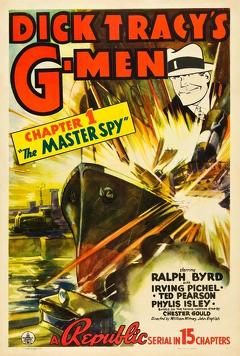 Best Mystery Movies of 1939 : Dick Tracy's G-Men