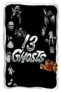 Best Horror Movies of 1960 : 13 Ghosts
