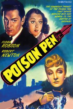 Best Drama Movies of 1939 : Poison Pen