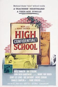 Best Mystery Movies of 1958 : High School Confidential!