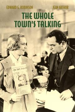 Best Comedy Movies of 1935 : The Whole Town's Talking