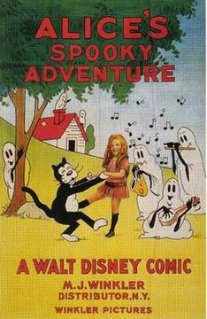 Best Animation Movies of 1924 : Alice's Spooky Adventure